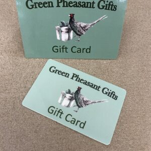 Green Pheasant gift card
