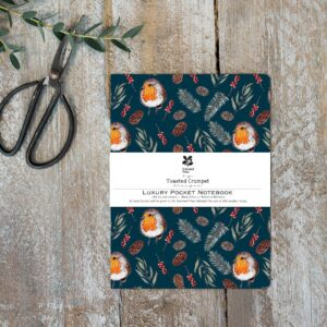 Luxury pocket notebook