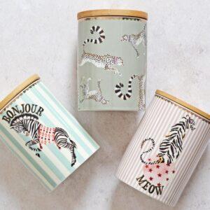 Storage Jars, Sugar bowl and Condiment pots